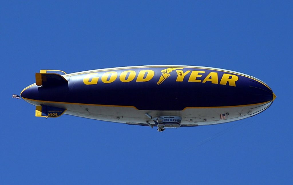 SVG Graphics on a Blimp